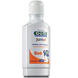 GUM JUNIOR COLLUTORIO BAMBINI 7-12 CALCIO 300 ML