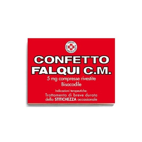CONFETTO FALQUI C.M. 5 MG COMPRESSE RIVESTITE