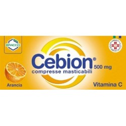 CEBION 500 MG COMPRESSE MASTICABILI ALL'ARANCIA