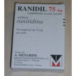 RANIDIL 75 MG COMPRESSE RIVESTITE CON FILM
