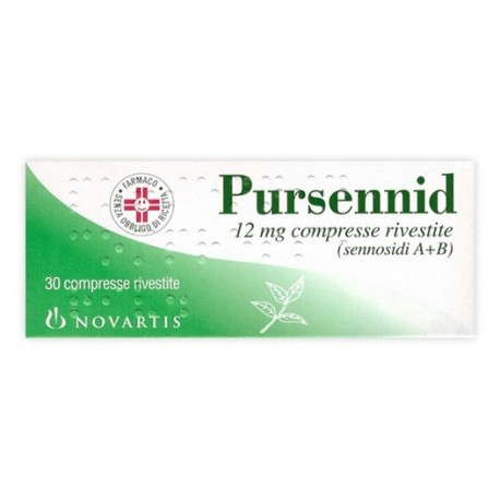 PURSENNID 12 MG COMPRESSE RIVESTITE