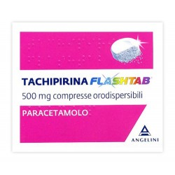 TACHIPIRINA FLASHTAB 250 MG COMPRESSE DISPERSIBILI