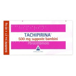 TACHIPIRINA BAMBINI 500 MG SUPPOSTE