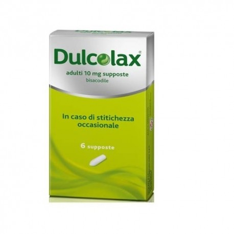 DULCOLAX ADULTI 10 MG 6 SUPPOSTE