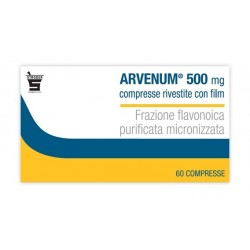 ARVENUM 500 MG COMPRESSE RIVESTITE CON FILM