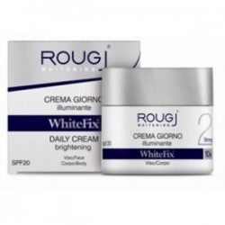 ROUGJ WHITEFIX STRONG CREMA VISO GIORNO FP 20 VASETTO 50 ML