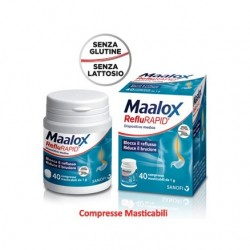MAALOX REFLURAPID COMPRESSE