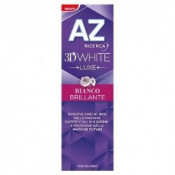 DENTIFRICIO AZ 3D WHITE LUXE BIANCO BRILLANTE 75 ML