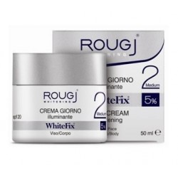 ROUGJ WHITEFIX MEDIUM CREMA VISO GIORNO FP 20 VASETTO 50 ML