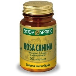 BODY SPRING ROSA CANINA 50 COMPRESSE