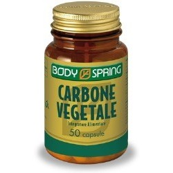 BODY SPRING CARBONE VEGETALE 50 CAPSULE