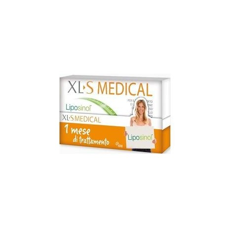 XLS MEDICAL LIPOSINOL 1 MESE TRATTAMENTO 180 COMPRESSE