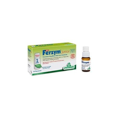 NEW FERZYM JUNIOR 10 FLACONCINI 8 ML