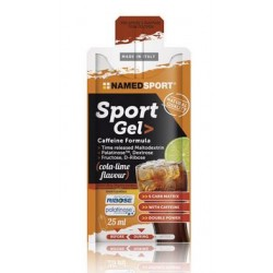 NAMED SPORT GEL COLA LIME 25 ML