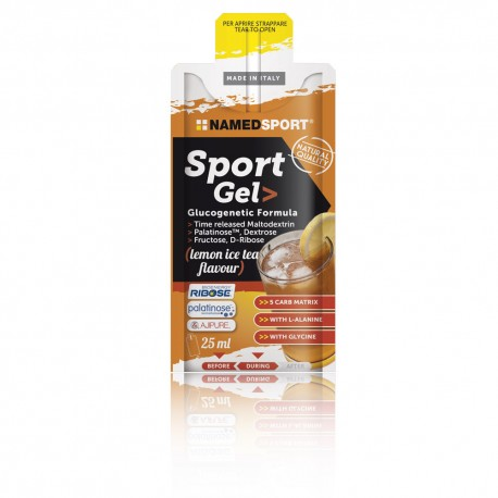 NAMED SPORT GEL LEMON ICE TEA 25 ML