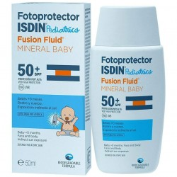 SDIN Fotoprotector Pediatric Fusion Fluid Mineral Baby SPF 50+