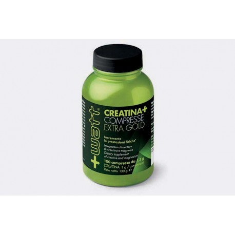 +WATT CREATINA + EXTRAGOLD 100 COMPRESSE