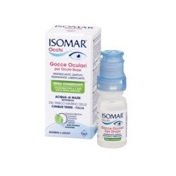 ISOMAR OCCHI GOCCE OCULARI ALL'ACIDO IALURONICO 0,20% 10 ML SENZA CONSERVANTI