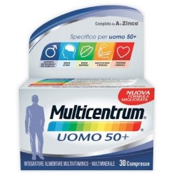 MULTICENTRUM UOMO 50+ 30 COMPRESSE
